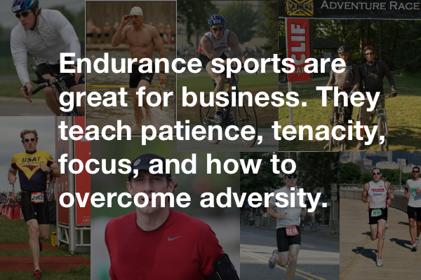 Endurance sports are great for business